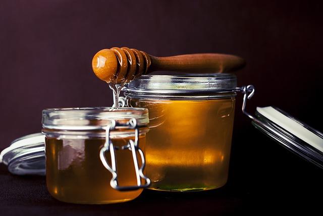 Haarkur mit Honig