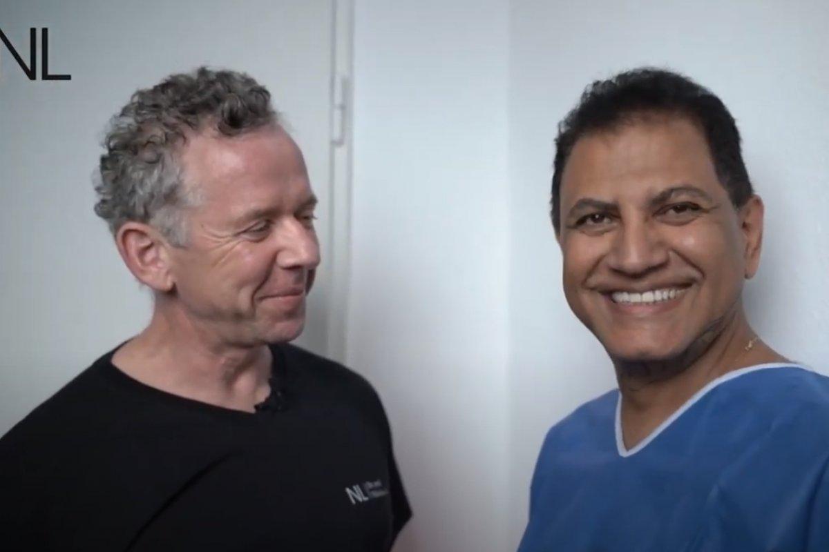 Entfernung eines Doppelkinns – Erfahrung des Patienten