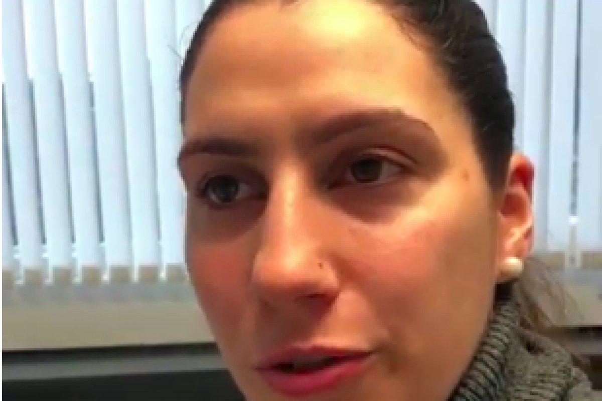 Patientin mit Lippenvergrösserung