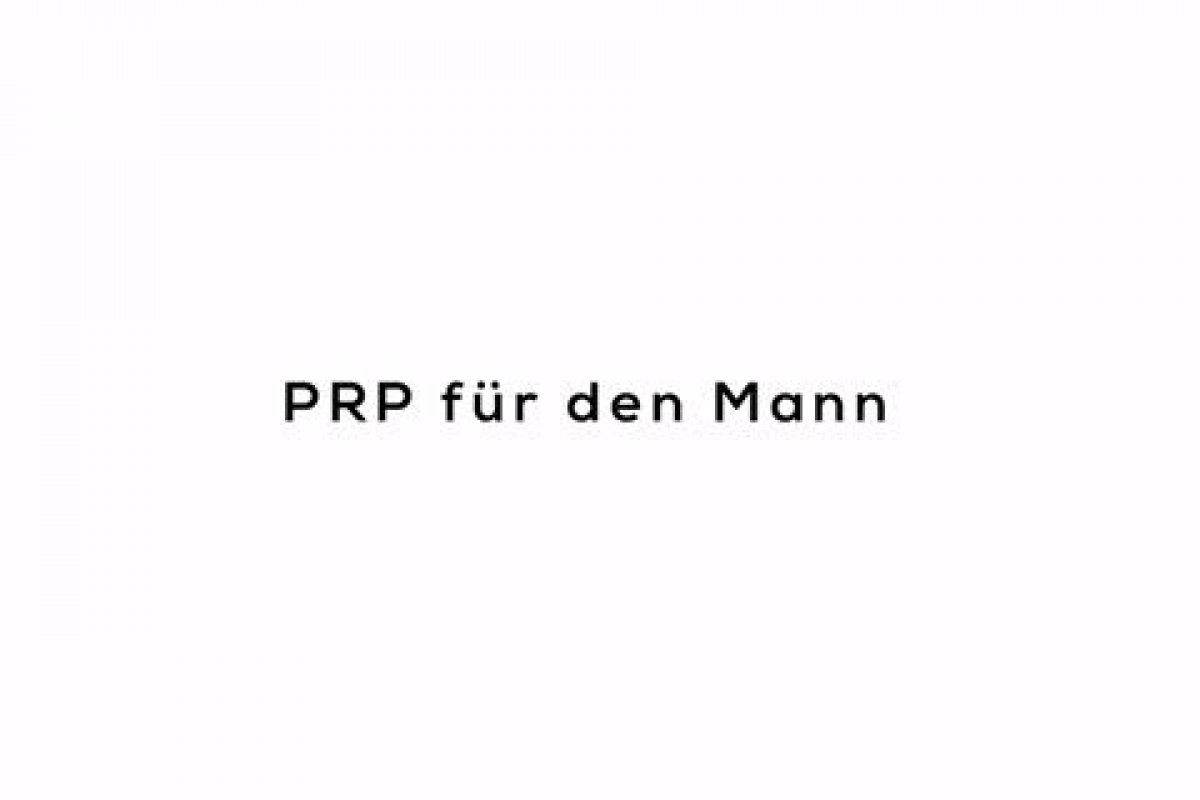 PRP für den Mann